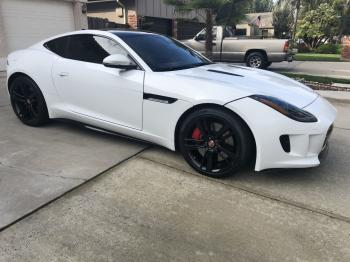 Salvage Jaguar F-TYPE